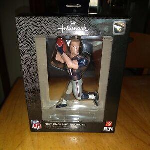 New England Patriots Football Figure Rob Gronkowski Hallmark NFL ornament