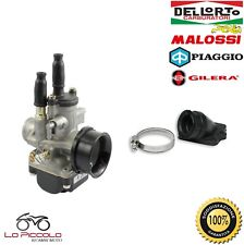 CARBURATORE DELL'ORTO PHBG 21 DS + COLLETTORE MALOSSI VESPA Primavera 50 2T