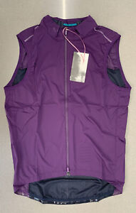 Rapha Men's Pro Team Lightweight Gilet Purple Dark Navy Large Brand New With Tag