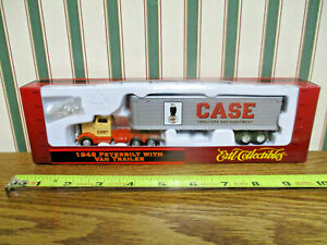 Case 1948 Peterbilt Semi With Van Trailer By Ertl 1/87th Scale >