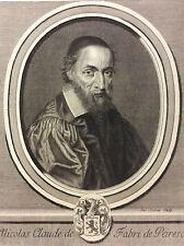 Nicolas-Claude Fabri de Peiresc Jacques LUBIN Provence humaniste astronome XVII