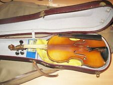 Old Ancient Violin with Case & Accessories