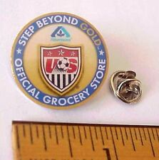 Olympic USA Soccer Team Albertsons Official Grocery Store Patriotic Pin