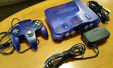 New listing Nintendo 64 Console N64 Funtastic Grape Purple with Expansion Pak & Controller