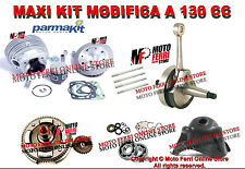 MF0356 - KIT MODIFICA APE 50 CILINDRO PARMAKIT 130 ALBERO MOTORE CAMPANA CUFFIA