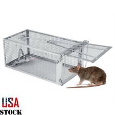 Mouse Rat Trap Cage Metal Small Live Animal Pest Rodent Mouse Control Bait Catch