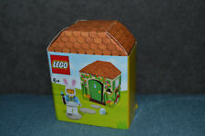Entièrement neuf dans sa boîte Lego 40271 brickheadz Easter Bunny Rabbit Saisonnier 30-Brand New in Box