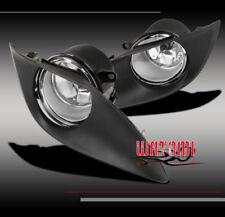 09-11 TOYOTA YARIS 2/3DR HATCHBACK BUMPER JDM CLEAR FOG LIGHTS W/OEM SWITCH+BULB