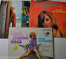 lot of 3 KLAUS WUNDERLICH LP Record Sexy Cheesecake Cover