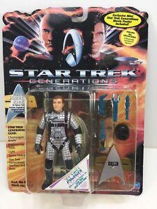 "NEW *Sealed* STAR TREK Generations Playmates 5"" Action Figure KIRK SPACE SUIT"