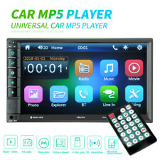 """Car Stereo Radio Double 2 DIN 7"""" HD MP5 MP3 FM Player Touch Screen Mirror link"""