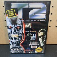 T2: The Arcade Game (Sega Genesis, 1992)Authentic-Tested-CIB W/ Manual-Fast Ship