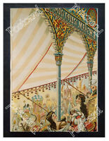 Historic Moscow circus ring, 1898 Advertising Postcard
