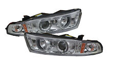 Mitsubishi Galant projector head light front lamp LED Halo chrome 99 00 01 02 03