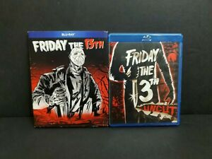Friday The 13th (1980) (Blu-ray, 2018, Uncut) w/ OOP Rare Slipcover. Jason