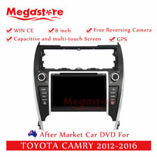 "8"" Car DVD GPS Navigation Head Unit Stereo For TOYOTA CAMRY 2012-2016"