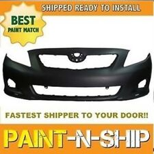 Fits; 2009 2010 Toyota Corolla S Front Bumper Painted to Match (TO1000342)