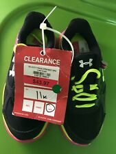 Under Armour Girl's Running Shoes Size 11K