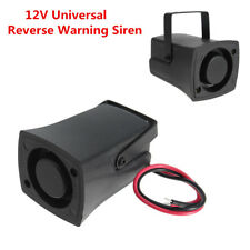 12V Universal Auto Car Reversing Warning Siren Sound Beep Alarms Horn WaterProof