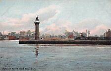 c.1910 Tower Blackwells Island Reef Manhattan NY post card