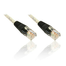 10m 33'ft Crossover Network Ethernet Cable RJ45 Cat5e Xover Patch Cable Lead