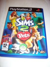 PS2 GAME THE SIMS 2 PETS