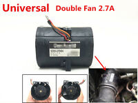 Electric turbine Turbo Double Fan super charger Boost Intake Fans SAN ACE60 2.7A
