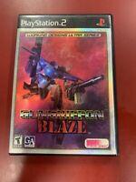 GunGriffon Blaze (Sony PlayStation 2, 2000) No Manual PS2