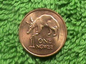 ZAMBIA   1 Ngwee   1983    UNC  .