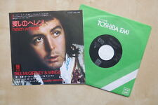 "PAUL McCARTNEY / WINGS Helen Wheels Japanese 7"" Odeon EPS 17198 1973"