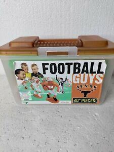 Football Guys Texas Kaskey Kids University TX Complete NCAA Game W/ Case Rare