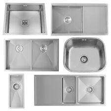 ENKI Single Double 1.5 Bowl Stainless Steel Undermount Kitchen Sink Handmade