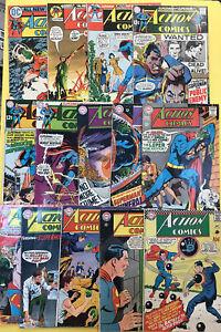 Action Comics Silver Age:341-415 (lot 14 Book)curt Swan, Neal Adams, Super Girl