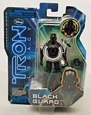 "Disney 2010 Tron Legacy 3"" Action Figure Black Guard Spin Master"