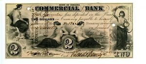 1858  $2    Terre Haute,  Commercial Exchange Bank of Indiana.