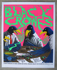 Black Crowes, Jackie Greene concert gig 2010 poster Rare Signed Jefferson Wood