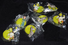 Lot of 7 Shrek Mini Figures Pvc Cake Toppers DreamWorks 1.5-2 Inch Vending Toys
