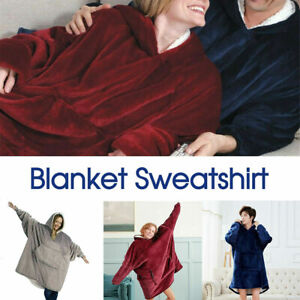 Blanket Sweatshirt Hoodie Ultra Plush Blanket Hoodie Soft&Warm AU STOCK