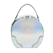 F0216 Fashion Patent Leather 2 in 1 Round Satchel w/Wallet