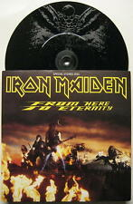 "IRON MAIDEN ""from Here to Eternity/Roll Over Vic"" - 7"" single ems240 etched"