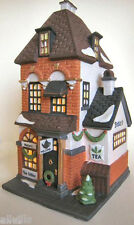 POTTER'S TEA SELLER #58808  WEST VILLAGE SHOPS DEPT 56  Christmas in the City