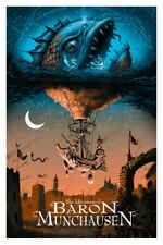 Thes adventures of Baron Munchausen by Jeff Soto - AP  - Rare sold out Mondo