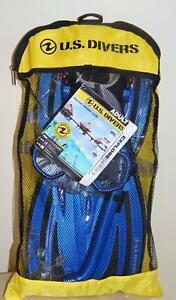 U.S. Divers Adult Travel Ready Pakala Set - Size: Small / Medium