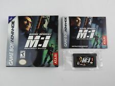 Mission: Impossible  Operation Surma (Nintendo Game Boy Advance, 2003) CIB