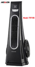 HELLER 75cm High Speed Turbo Tower Fan+Touch Button+Remote+3 Speed+Timer TTF75R