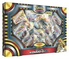 Pokemon - Set Collezione Kommo-O GX - 4 Buste e Carta Gigante - ITALIANO NUOVO