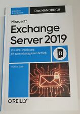Microsoft Exchange Server 2019 Das Handbuch  (Mängelexemplar Sehr gut)