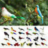 New Fake Artificial Bird Realistic Home Decor Parakeet Taxidermy Sparrow