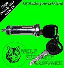 Saturn S Vue Equinox Torrent Ignition Key Switch Lock Cylinder Assembled 2 Keys