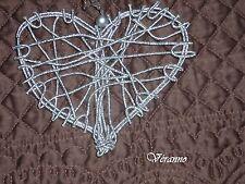 Perle d/'or /& Pearl coeur suspendu décoration 6ft Guirlande perle anniversaire de mariage